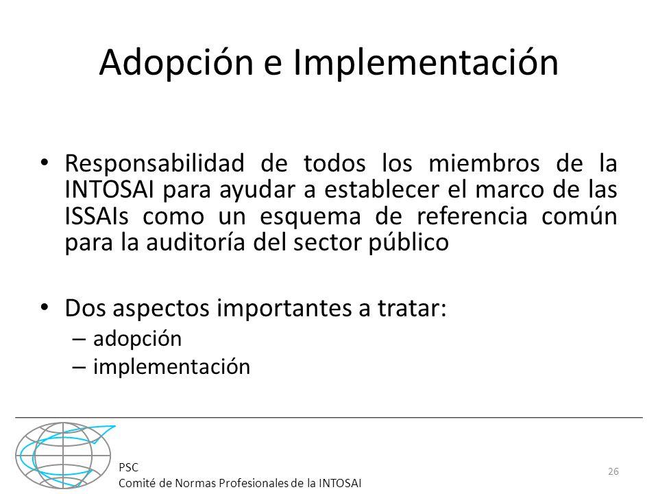 Adopción e Implementación