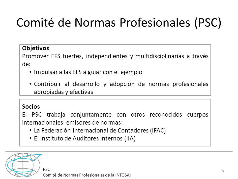 Comité de Normas Profesionales (PSC)
