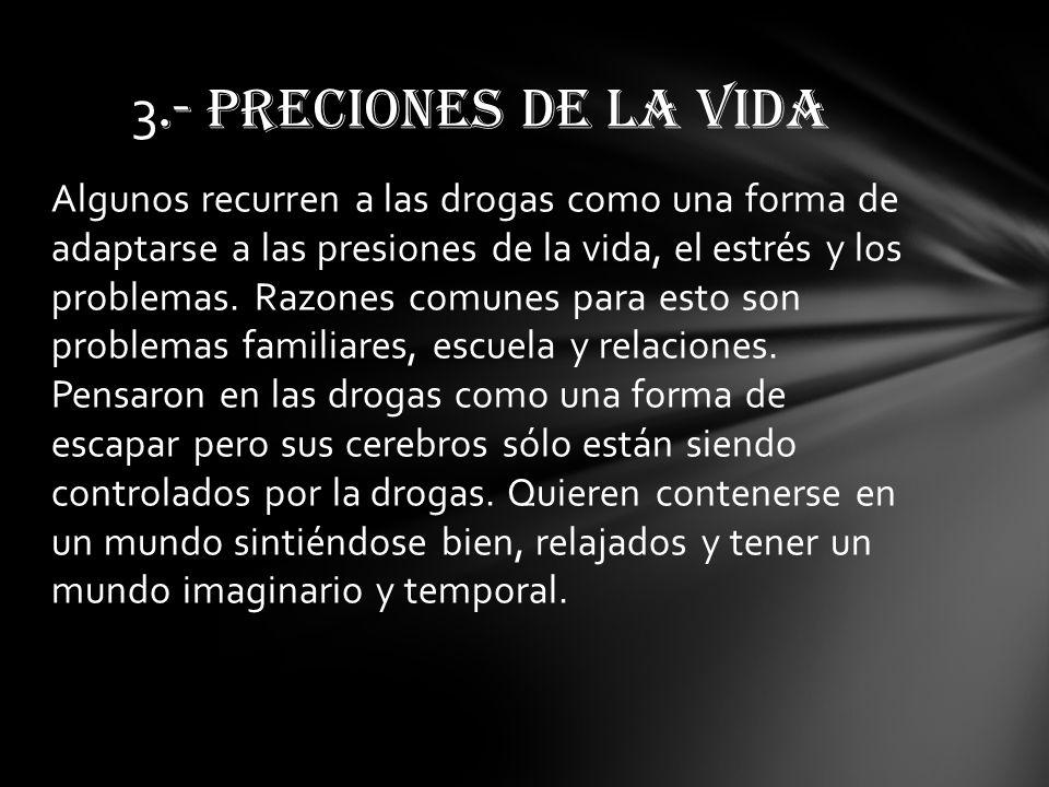 3.- PRECIONES DE LA VIDA