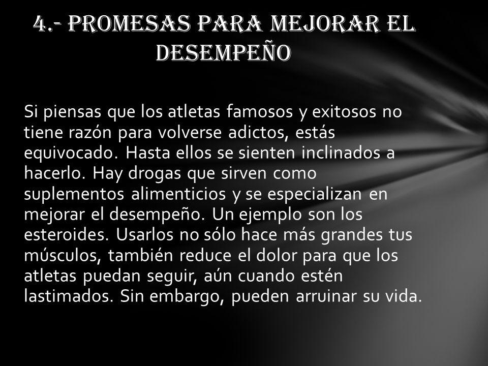4.- PROMESAS PARA MEJORAR EL DESEMPEÑO
