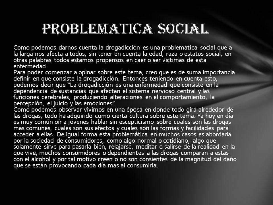 PROBLEMATICA SOCIAL