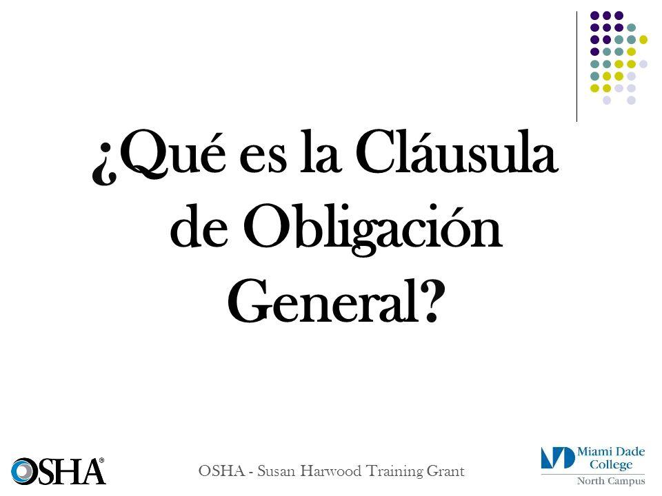 ¿Qué es la Cláusula de Obligación General