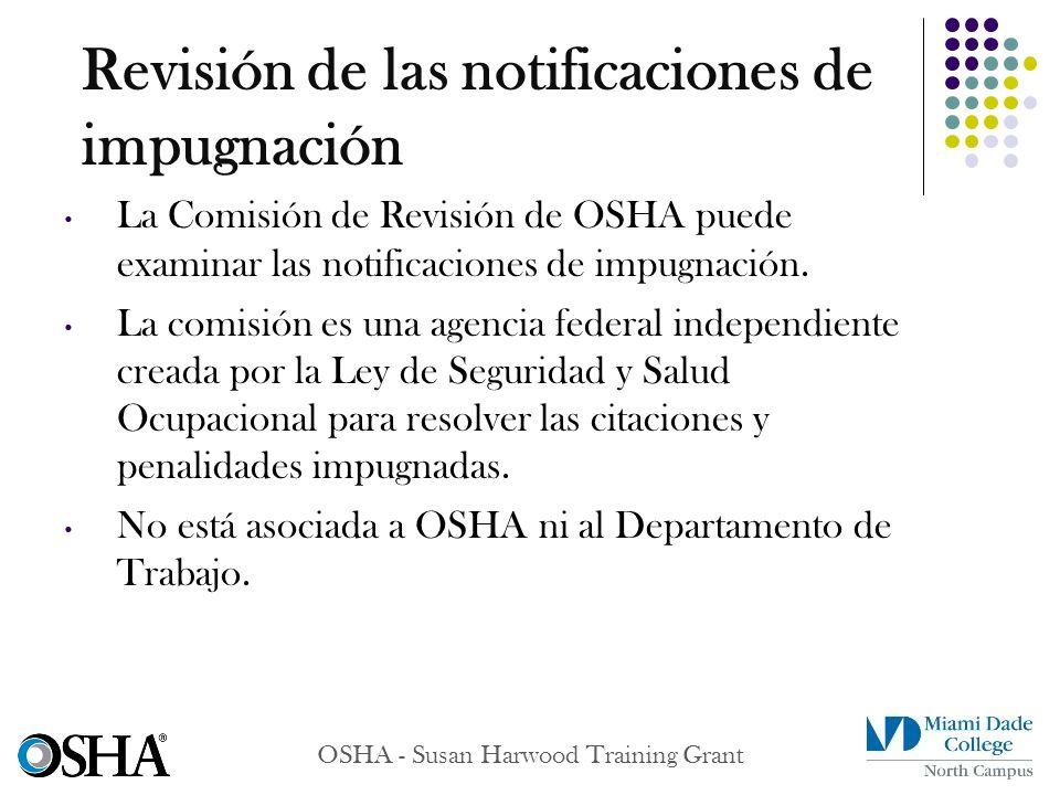 Revisión de las notificaciones de impugnación