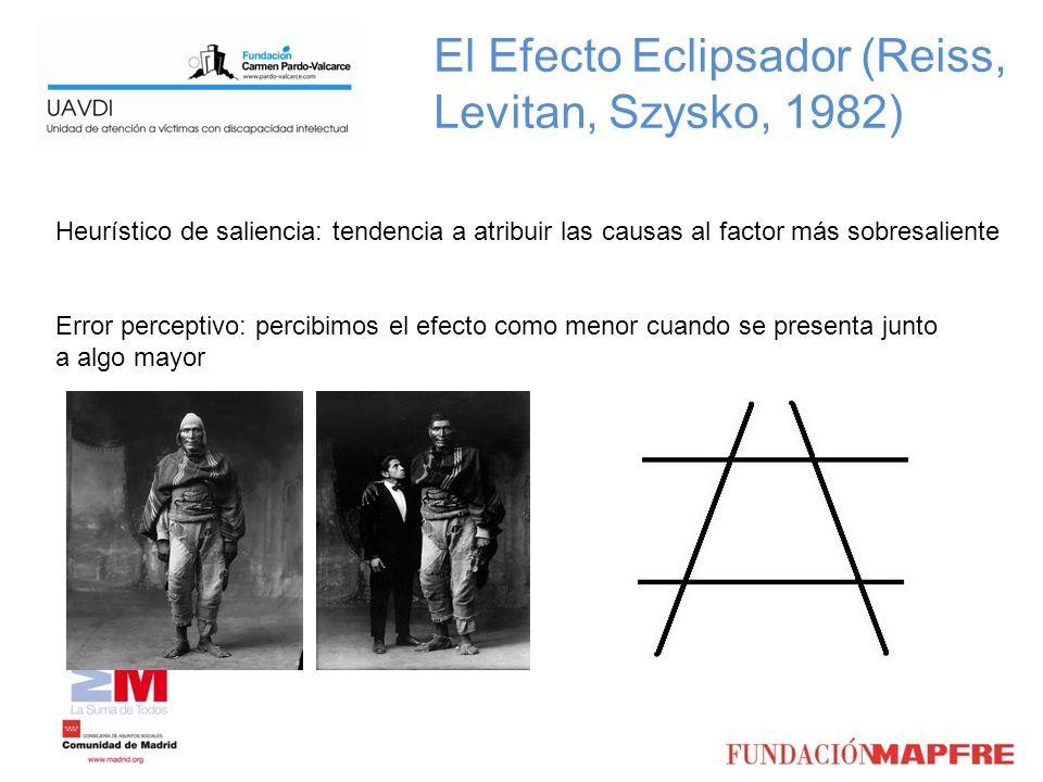 El Efecto Eclipsador (Reiss, Levitan, Szysko, 1982)