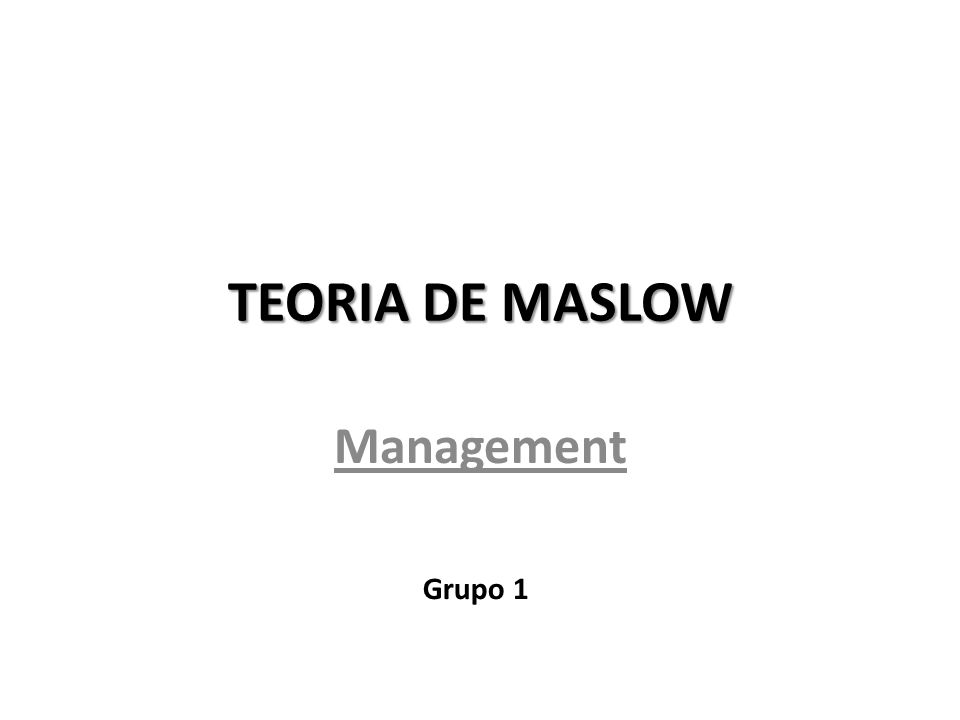 maslow on management Maslow on management - kindle edition by abraham h maslow download it once and read it on your kindle device, pc, phones or tablets use features like bookmarks, note taking and highlighting while reading maslow on management.