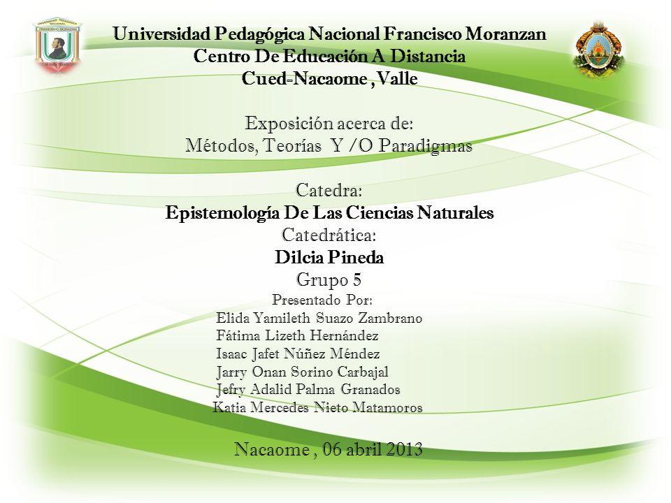 Universidad Pedagógica Nacional Francisco Moranzan