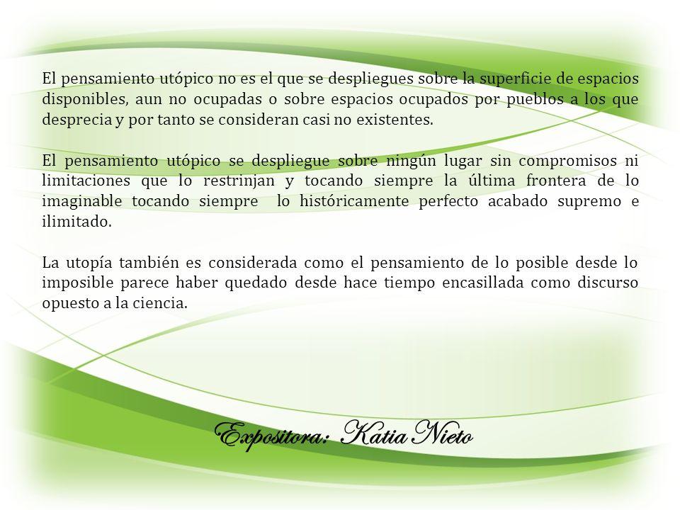 Expositora: Katia Nieto
