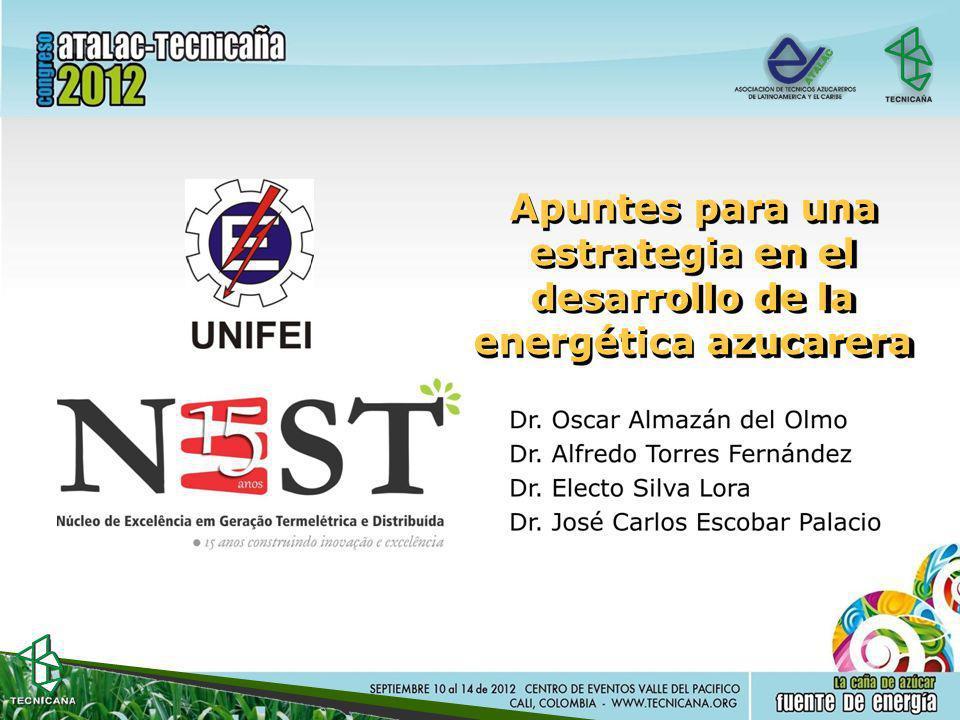 Apuntes para una estrategia en el desarrollo de la energética azucarera