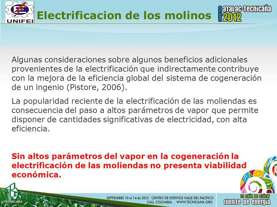 Electrificacion de los molinos