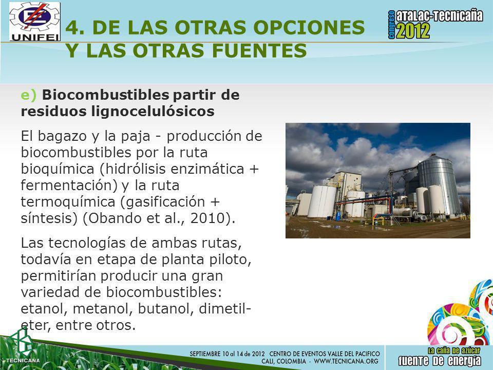4. DE LAS OTRAS OPCIONES Y LAS OTRAS FUENTES