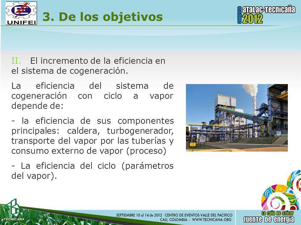 3. De los objetivos II. El incremento de la eficiencia en