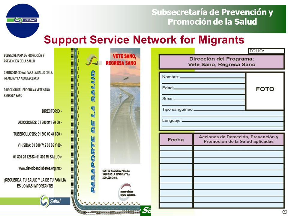 Support Service Network for Migrants