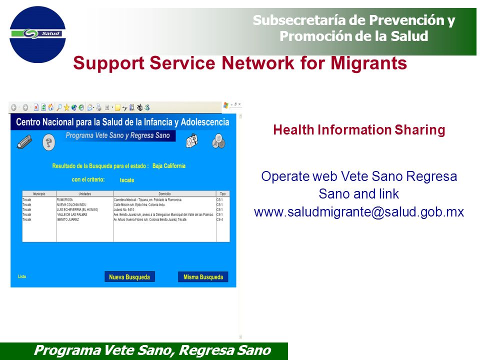 Health Information Sharing