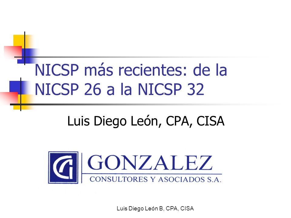 NICSP más recientes: de la NICSP 26 a la NICSP 32