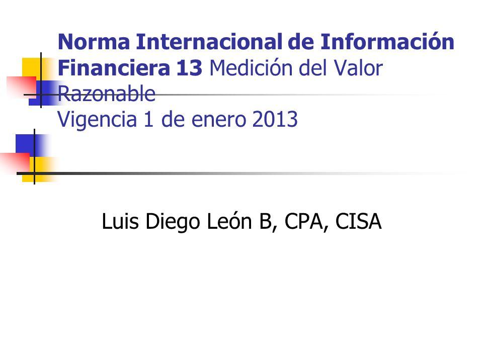 Luis Diego León B, CPA, CISA