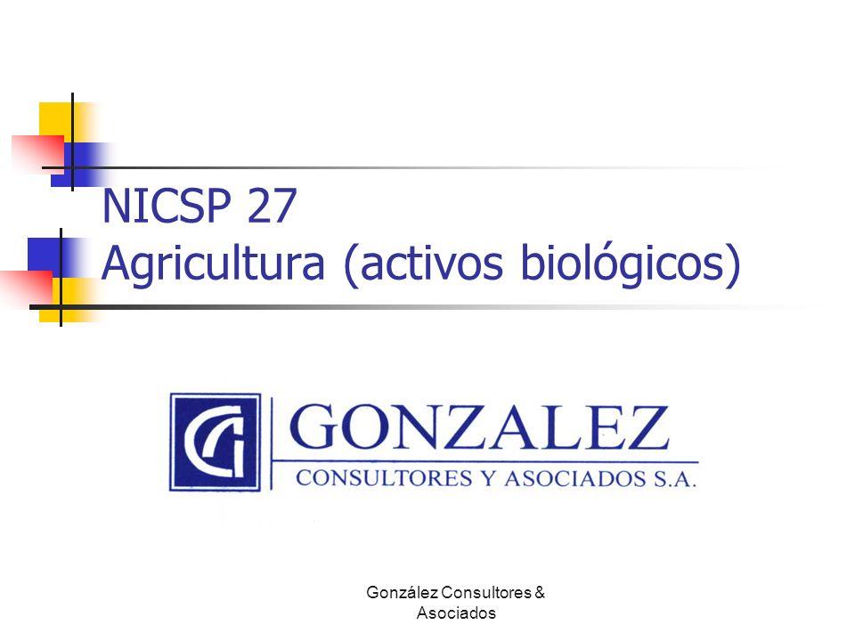 NICSP 27 Agricultura (activos biológicos)