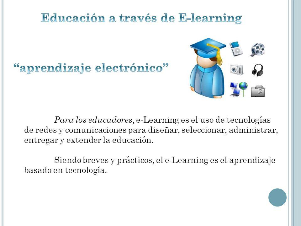 Educación a través de E-learning