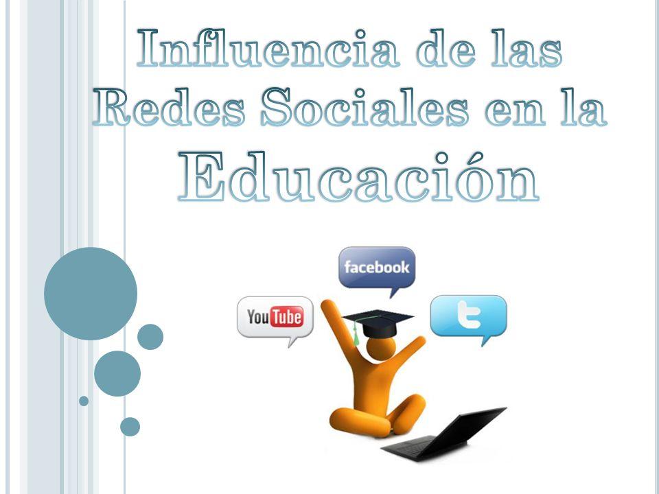 Influencia de las Redes Sociales en la Educación