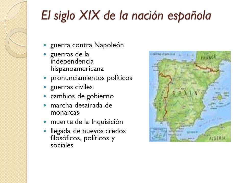 El siglo XIX de la nación española