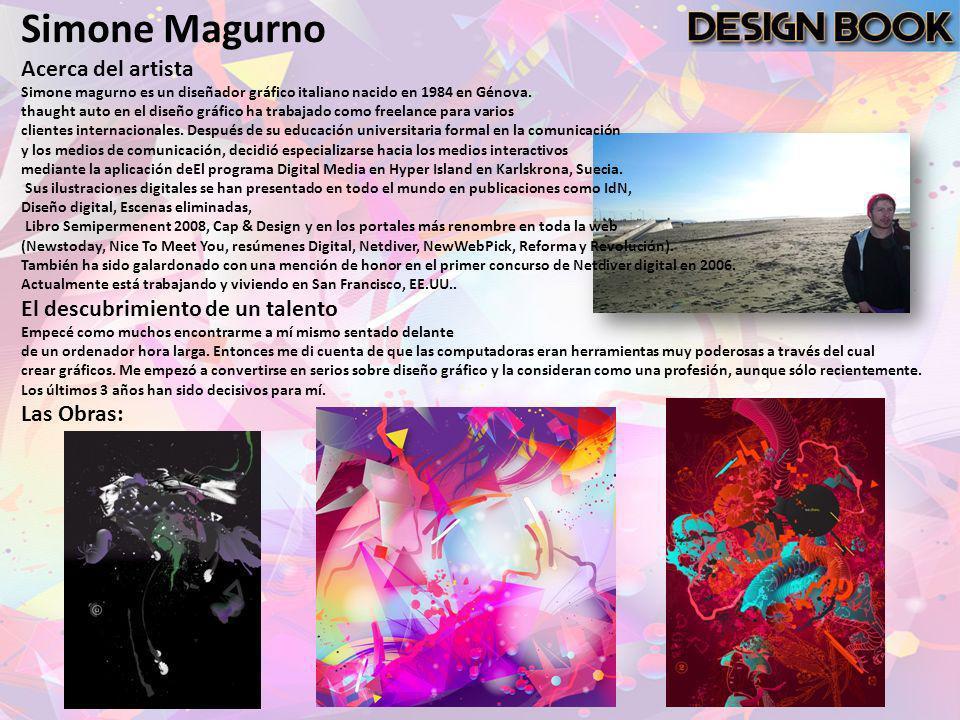 Simone Magurno Acerca del artista El descubrimiento de un talento
