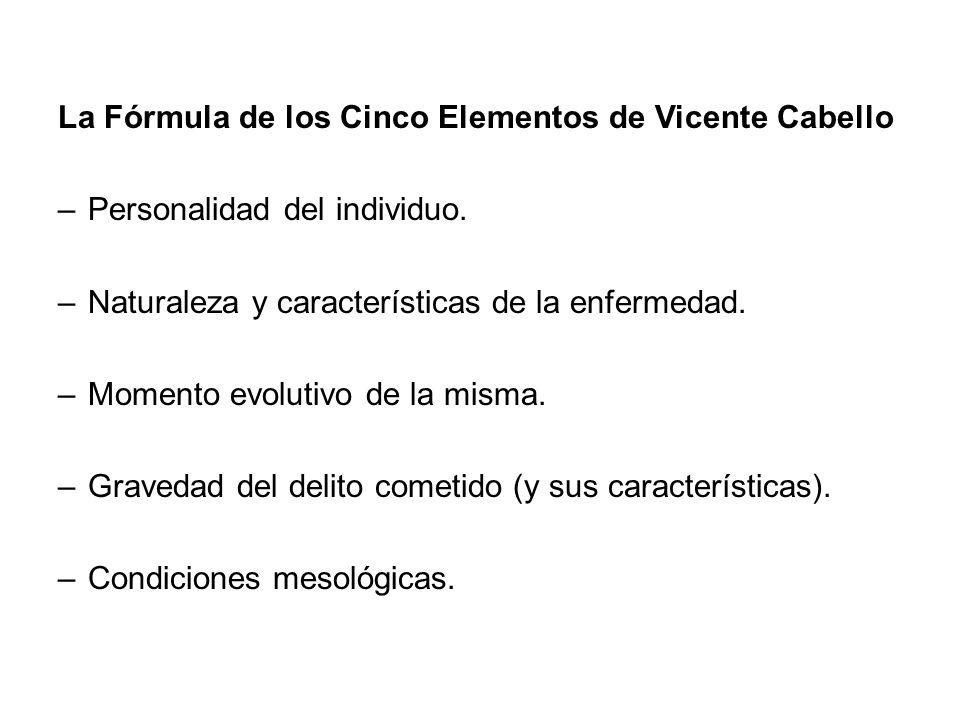 La Fórmula de los Cinco Elementos de Vicente Cabello