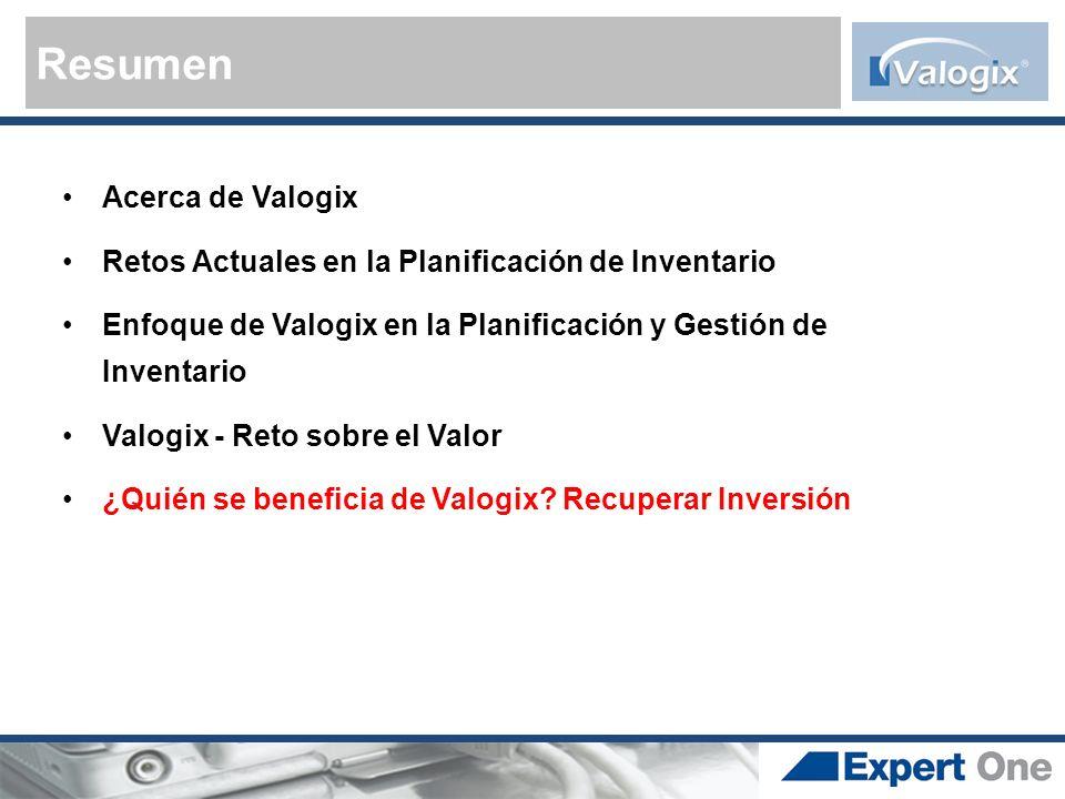 Resumen Acerca de Valogix