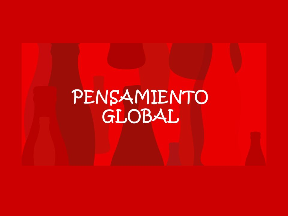 PENSAMIENTO GLOBAL
