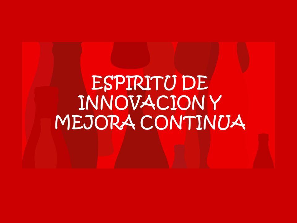 ESPIRITU DE INNOVACION Y MEJORA CONTINUA