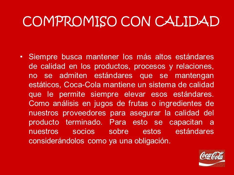 COMPROMISO CON CALIDAD