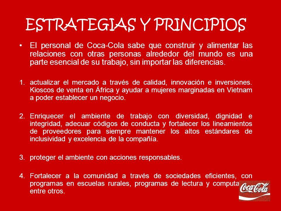 ESTRATEGIAS Y PRINCIPIOS