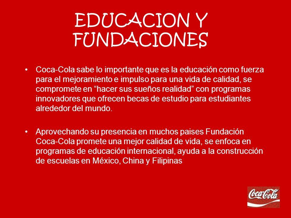 EDUCACION Y FUNDACIONES