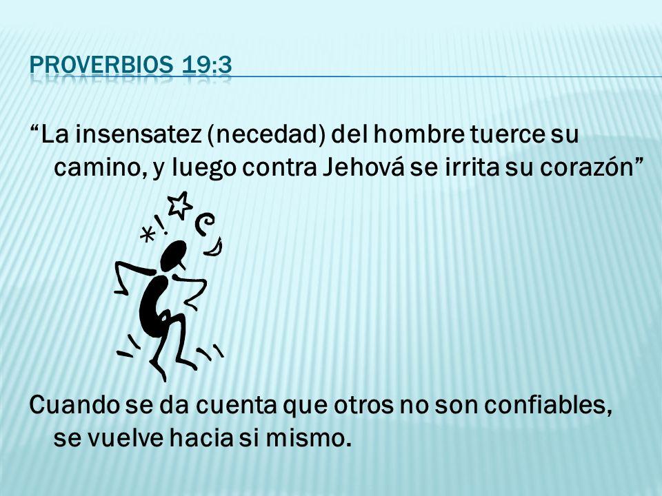 Proverbios 19:3