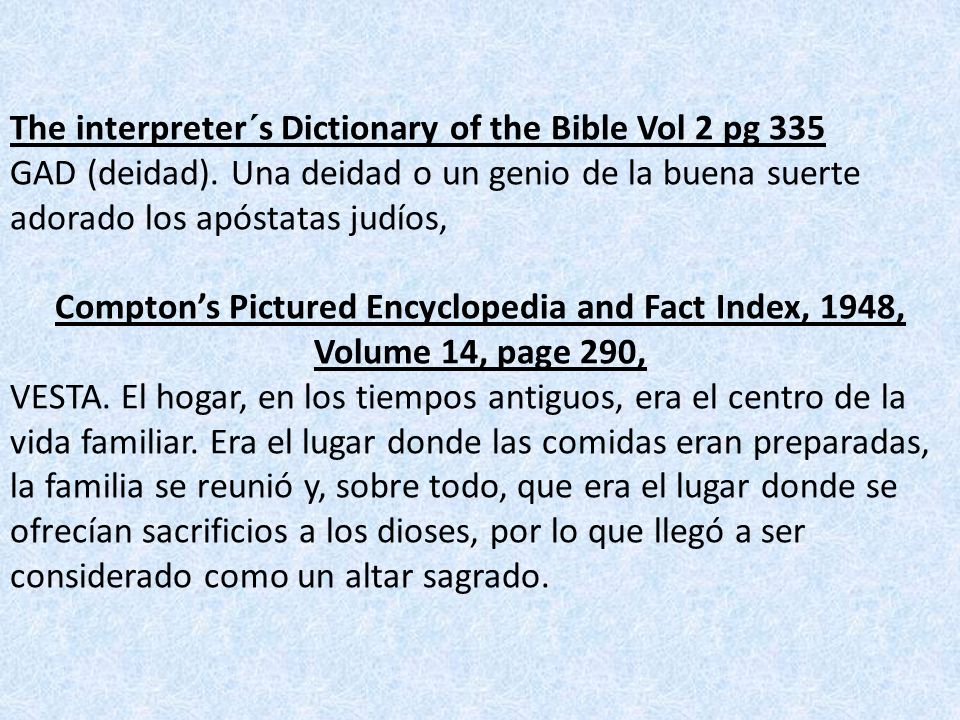 The interpreter´s Dictionary of the Bible Vol 2 pg 335