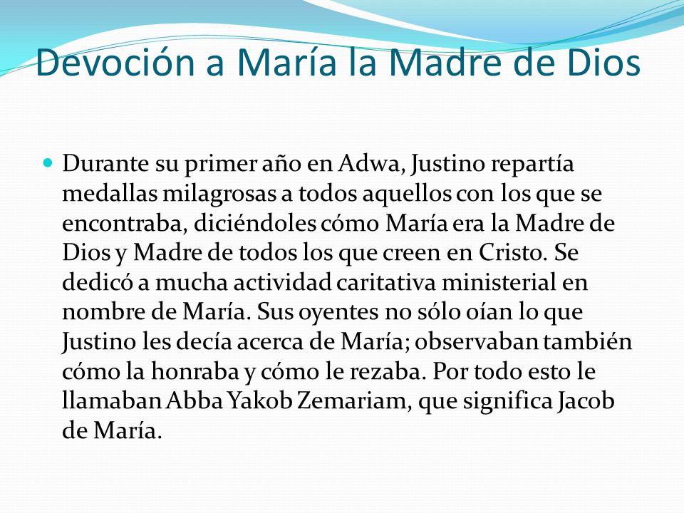 Devoción a María la Madre de Dios