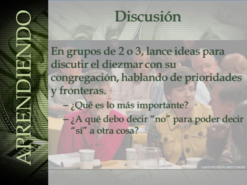 APRENDIENDO Discusión