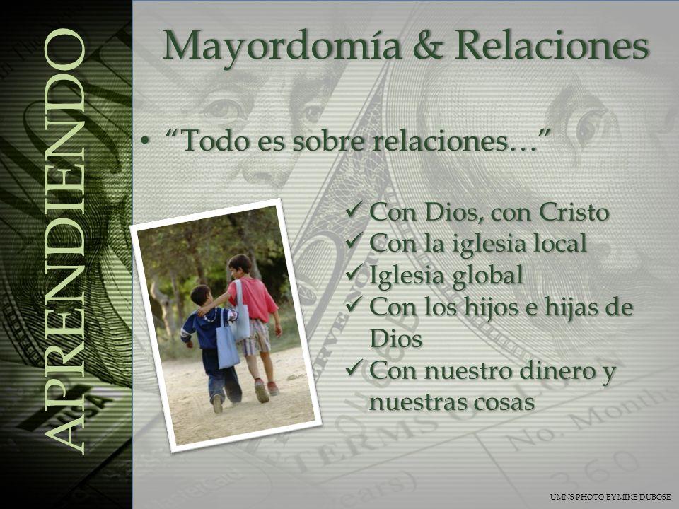 Mayordomía & Relaciones