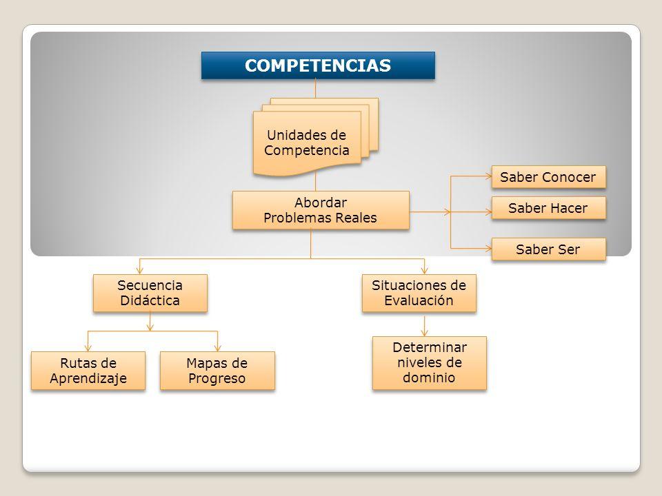 COMPETENCIAS Unidades de Competencia Saber Conocer Abordar