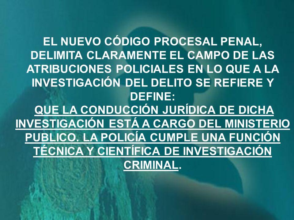 EL NUEVO CÓDIGO PROCESAL PENAL,