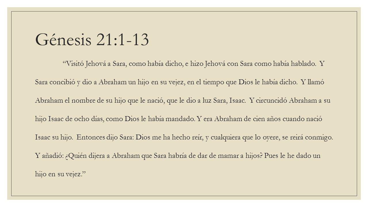 Génesis 21:1-13