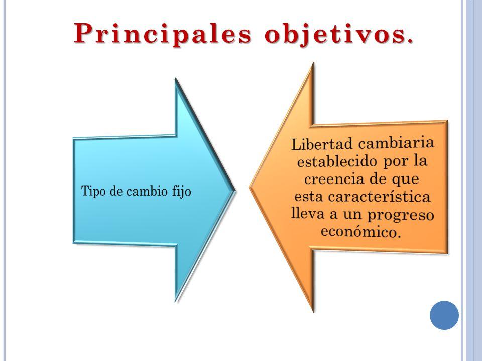 Principales objetivos.