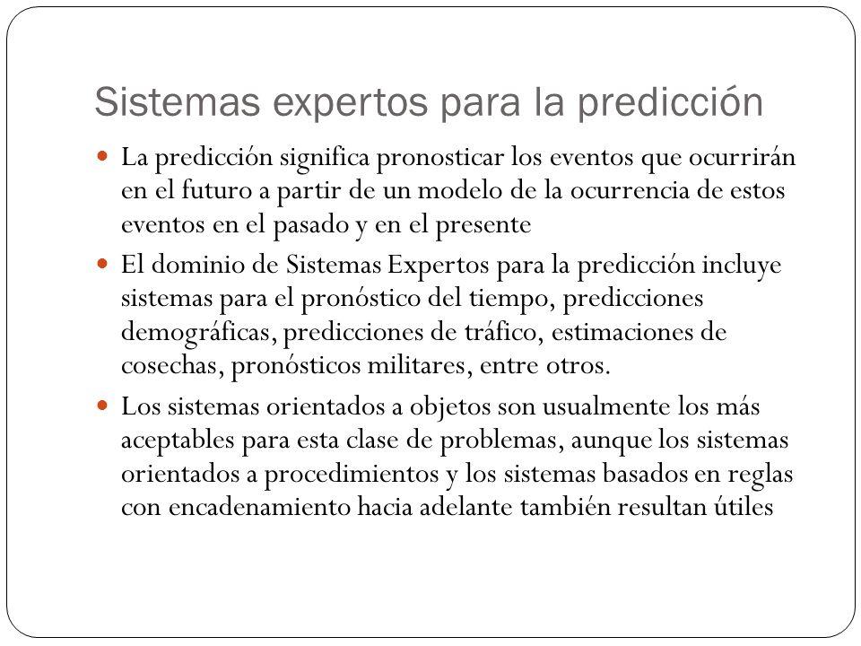 Sistemas expertos para la predicción