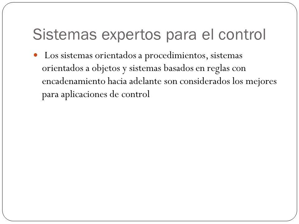 Sistemas expertos para el control