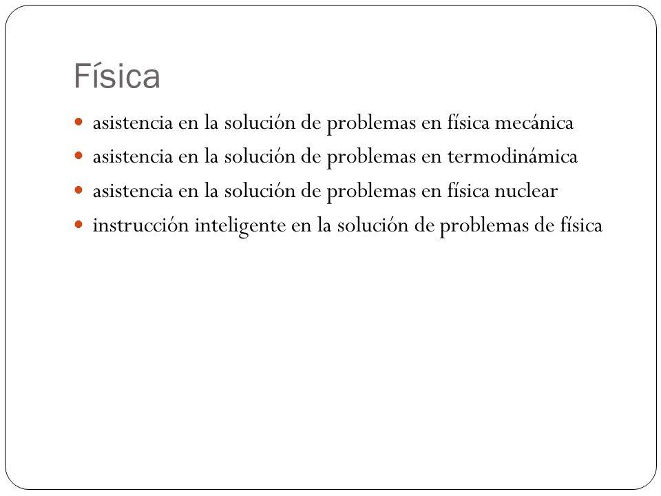 Física asistencia en la solución de problemas en física mecánica