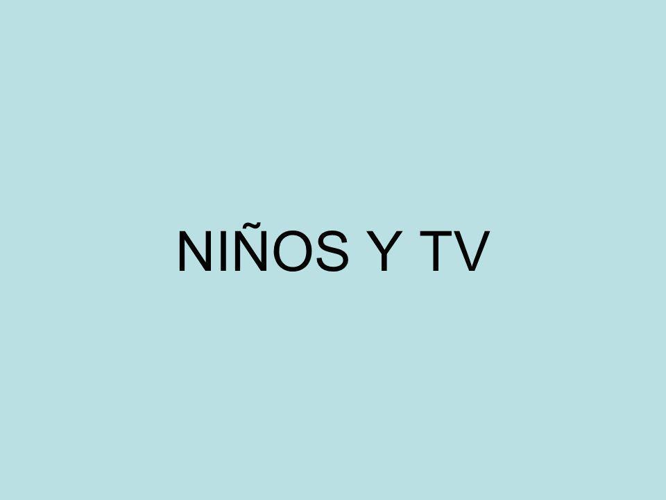 NIÑOS Y TV
