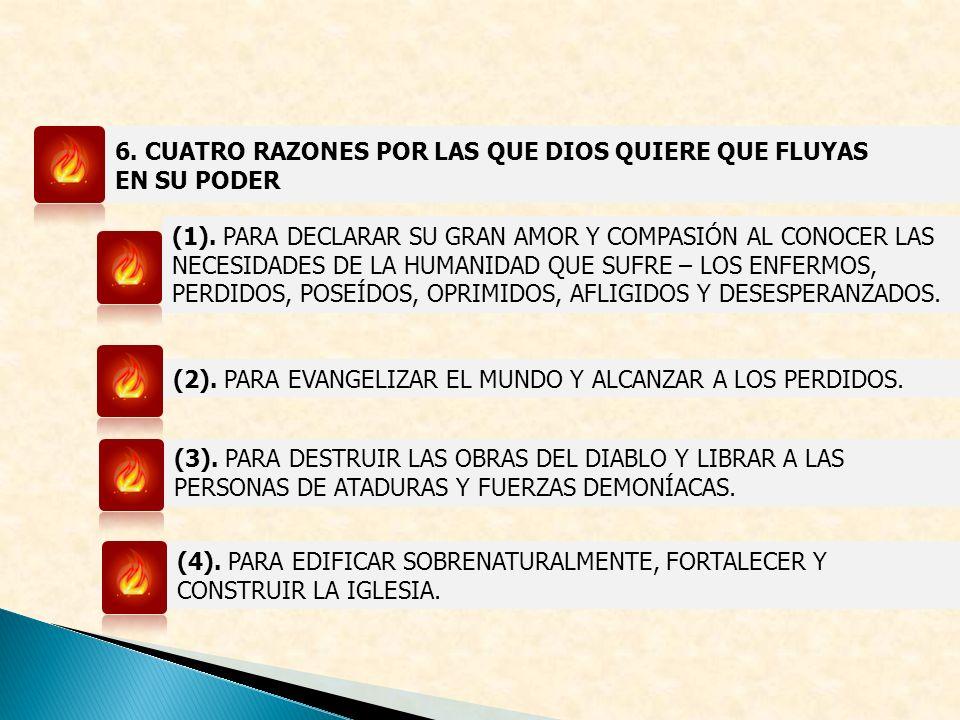 6. CUATRO RAZONES POR LAS QUE DIOS QUIERE QUE FLUYAS