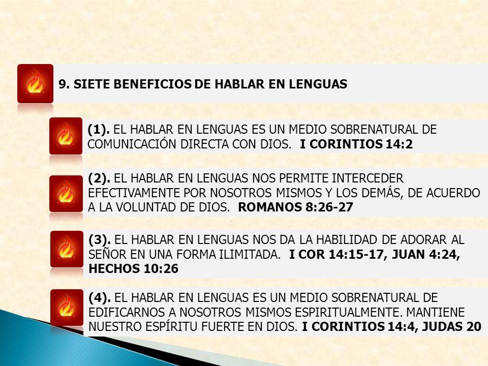 9. SIETE BENEFICIOS DE HABLAR EN LENGUAS