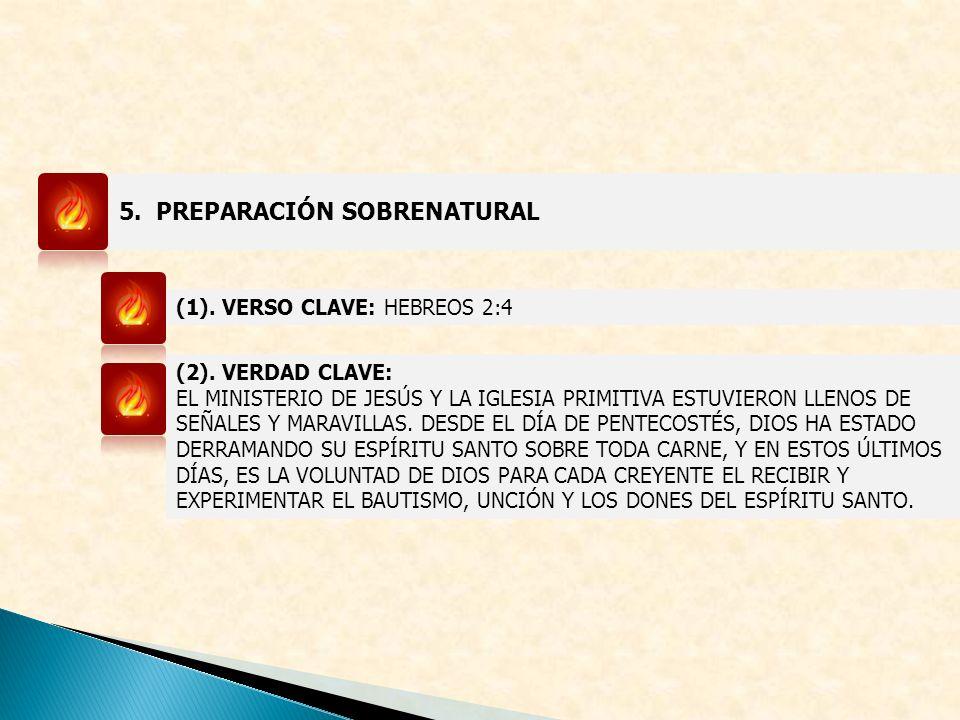 5. PREPARACIÓN SOBRENATURAL