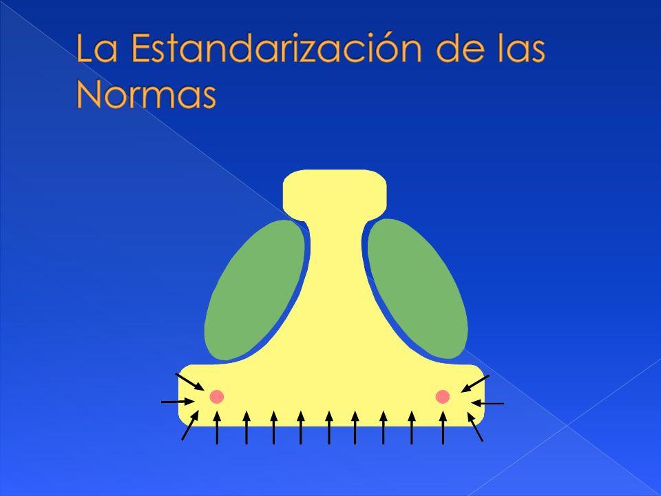 La Estandarización de las Normas