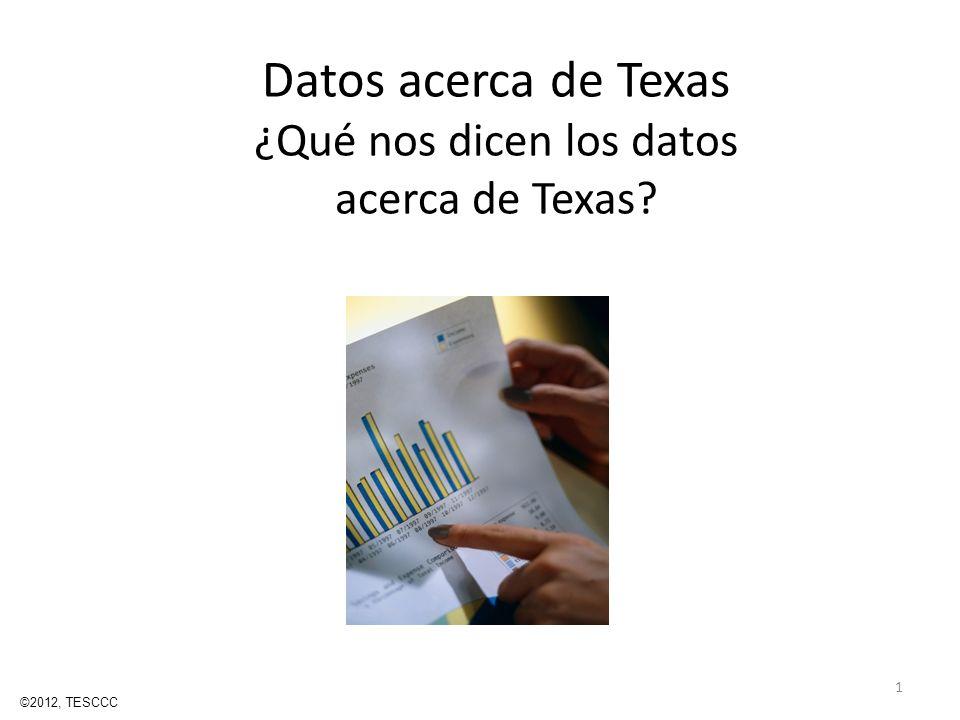 Datos acerca de Texas ¿Qué nos dicen los datos acerca de Texas