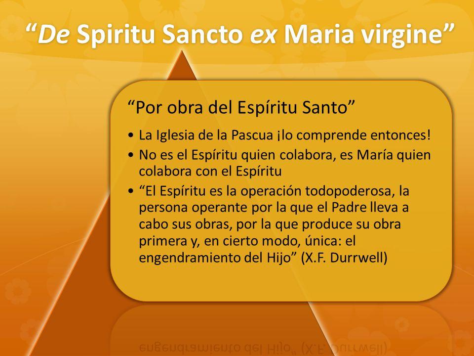 De Spiritu Sancto ex Maria virgine